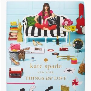 New Kate Spade blue coffee table book 💞